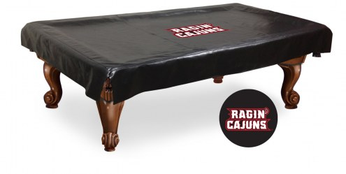 Louisiana Lafayette Ragin' Cajuns Pool Table Cover