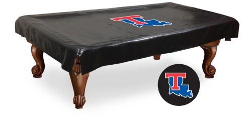 Louisiana Tech Bulldogs Pool Table Cover