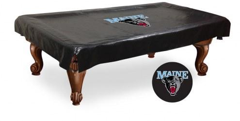 Maine Black Bears Pool Table Cover