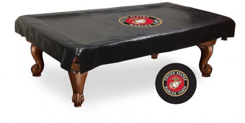 U.S. Marine Corps Pool Table Cover