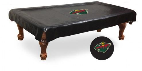 Minnesota Wild Pool Table Cover