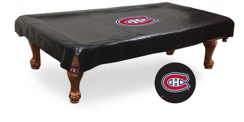 Montreal Canadiens Pool Table Cover