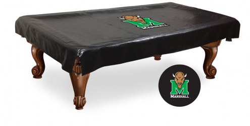 Marshall Thundering Herd Pool Table Cover