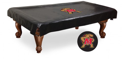 Maryland Terrapins Pool Table Cover