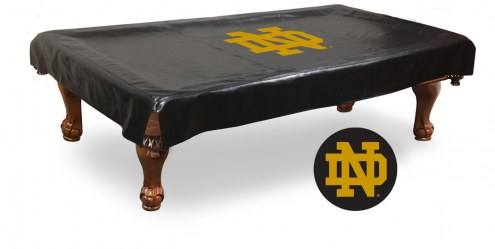 """Notre Dame Fighting Irish """"ND"""" Pool Table Cover"""