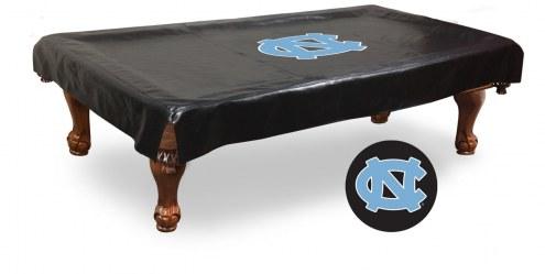 North Carolina Tar Heels Pool Table Cover