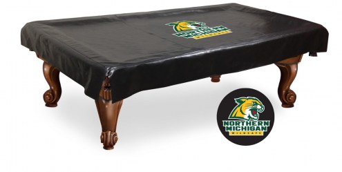 Northern Michigan Wildcats Pool Table Cover