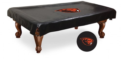 Oregon State Beavers Pool Table Cover
