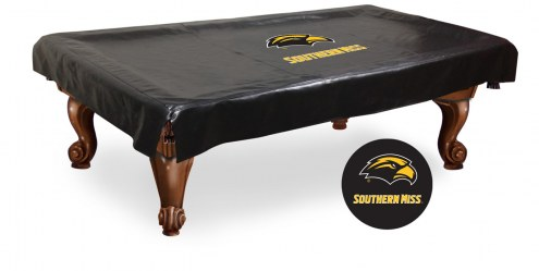 Southern Mississippi Golden Eagles Pool Table Cover