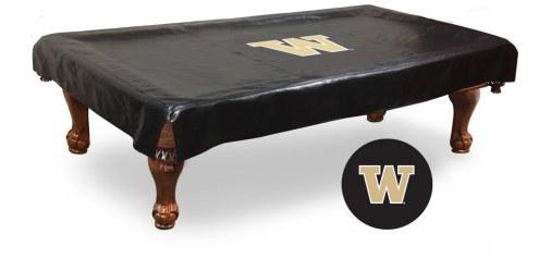 Washington Huskies Pool Table Cover
