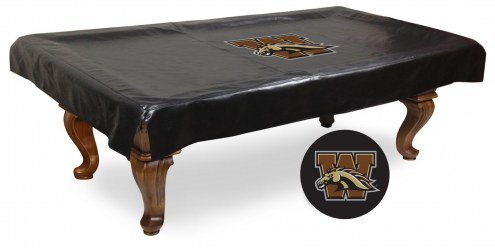 Western Michigan Broncos Pool Table Cover