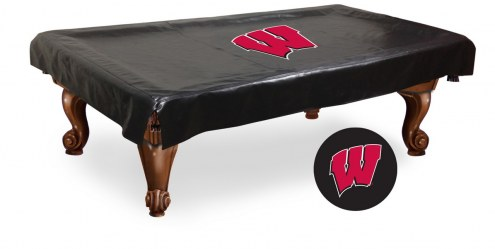 Wisconsin Badgers Pool Table Cover