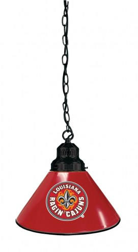 Louisiana Lafayette Ragin' Cajuns Pendant Light