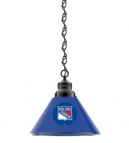 New York Rangers Pendant Light