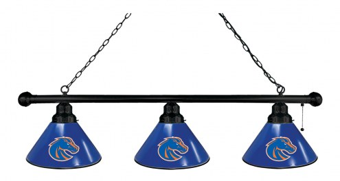 Boise State Broncos 3 Shade Pool Table Light