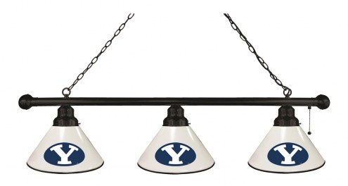 BYU Cougars 3 Shade Pool Table Light
