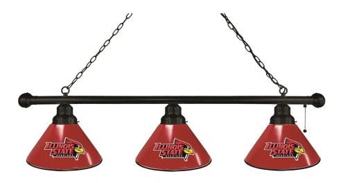 Illinois State Redbirds 3 Shade Pool Table Light