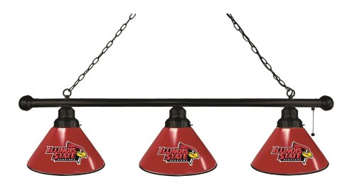 Illinois State Redbirds 3 Shade Pool Table Light