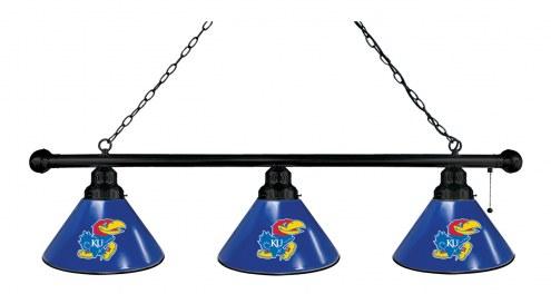 Kansas Jayhawks 3 Shade Pool Table Light