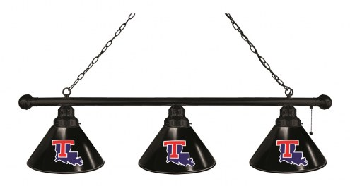 Louisiana Tech Bulldogs 3 Shade Pool Table Light