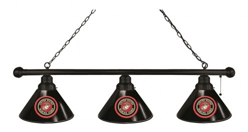 U.S. Marine Corps 3 Shade Pool Table Light