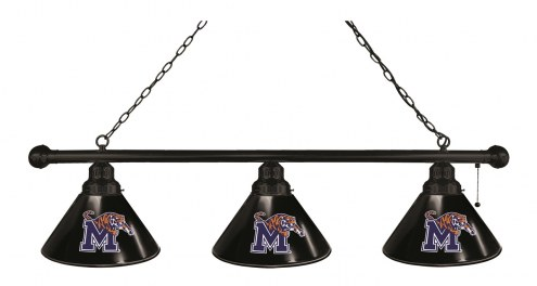 Memphis Tigers 3 Shade Pool Table Light