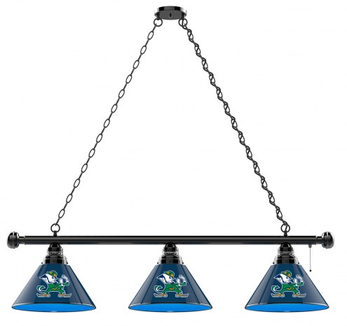 Notre Dame Fighting Irish Leprechaun 3 Shade Pool Table Light