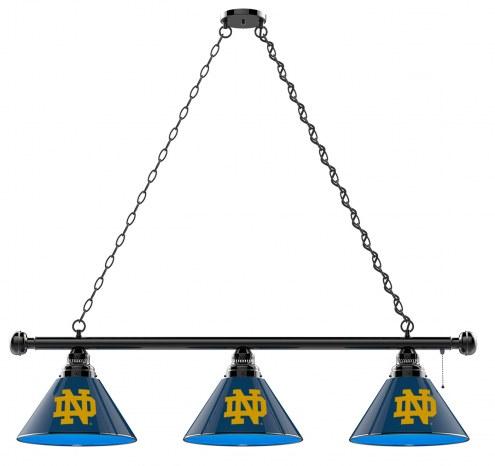 Notre Dame Fighting Irish 3 Shade Pool Table Light