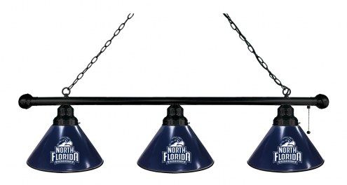North Florida Ospreys 3 Shade Pool Table Light
