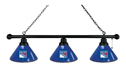 New York Rangers 3 Shade Pool Table Light