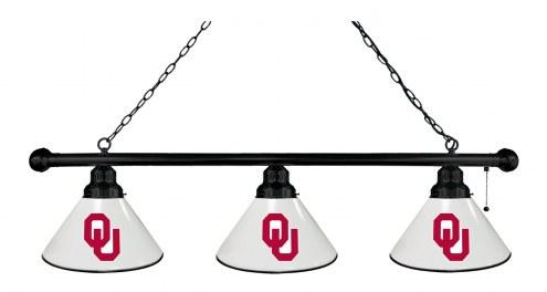 Oklahoma Sooners 3 Shade Pool Table Light