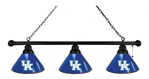 Kentucky Wildcats 3 Shade Pool Table Light