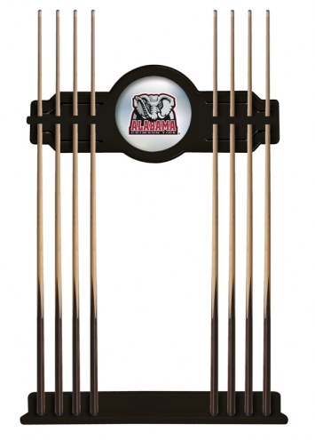 Alabama Crimson Tide Logo Pool Cue Rack