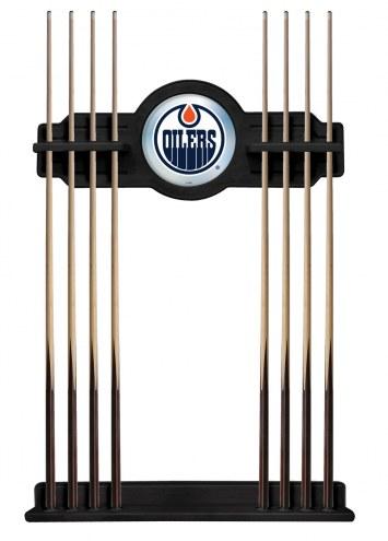 Edmonton Oilers Pool Cue Rack