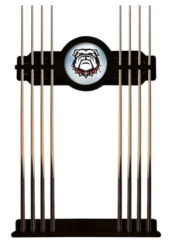 Georgia Bulldogs Logo Pool Cue Rack