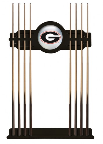 Georgia Bulldogs Pool Cue Rack