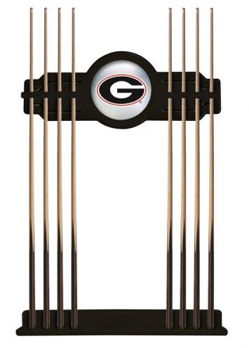 Georgia Bulldogs Pool Cue Rack