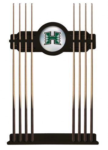 Hawaii Warriors Pool Cue Rack