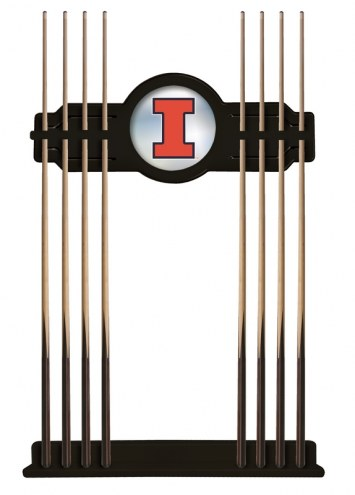Illinois Fighting Illini Pool Cue Rack