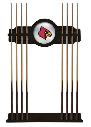 Louisville Cardinals Pool Cue Rack