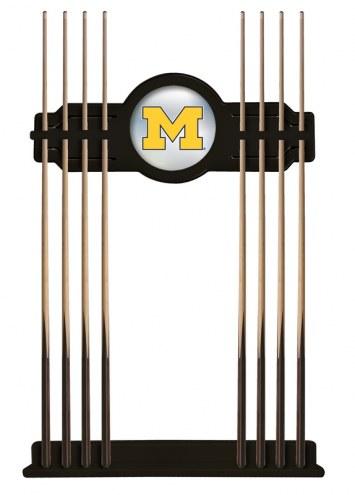 Michigan Wolverines Pool Cue Rack