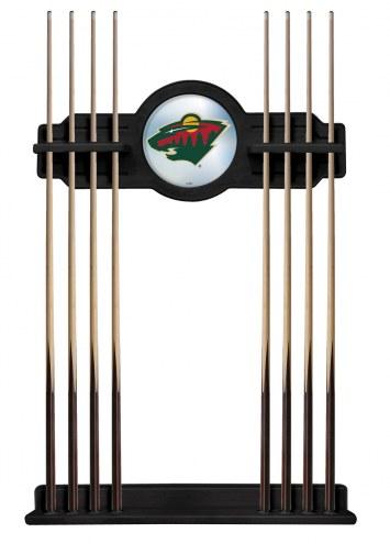 Minnesota Wild Pool Cue Rack