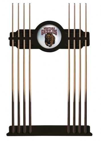 Montana Grizzlies Pool Cue Rack