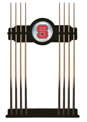 North Carolina State Wolfpack Pool Cue Rack