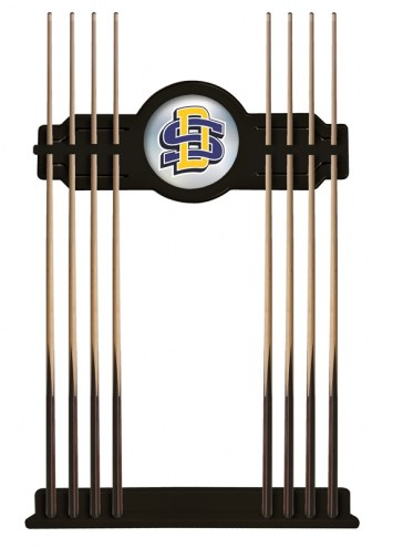 South Dakota State Jackrabbits Pool Cue Rack