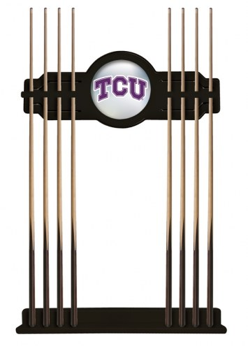 Texas Christian Horned Frogs Pool Cue Rack
