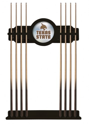 Texas State Bobcats Pool Cue Rack