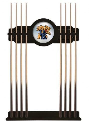 Kentucky Wildcats Logo Pool Cue Rack