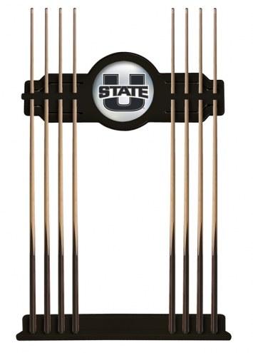 Utah State Aggies Pool Cue Rack