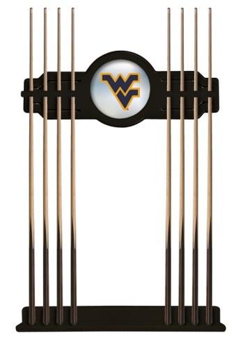 West Virginia Mountaineers Pool Cue Rack